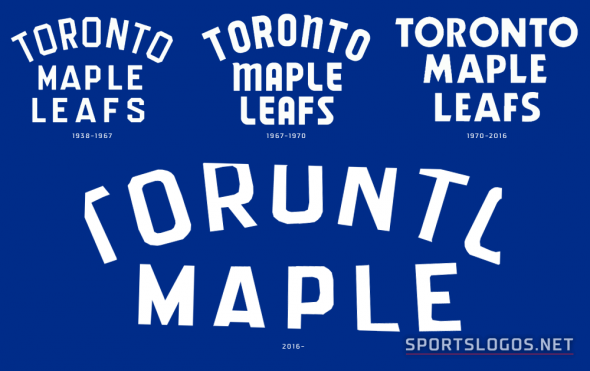 Leafs Wordmark Compare