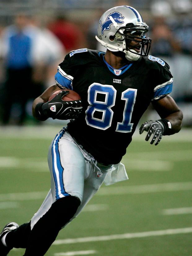 Mens XL Nike DETROIT LIONS Game Jersey NFL DARIUS SLAY Shirt Alternate B