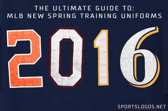 462432fe1bc New Spring Training Uniforms Across MLB for 2016