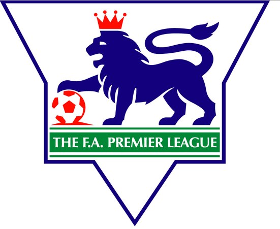 The inaugural Premier League logo
