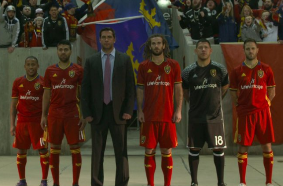 Two Major League Soccer teams unveil new home kits for 2016