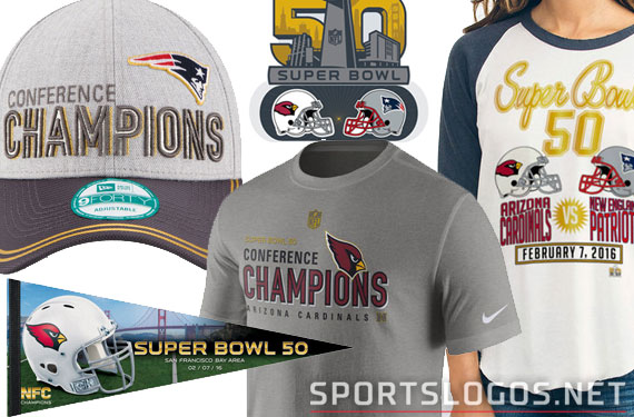 41f301ee9 SB50 Phantom Merchandise. Super Bowl 50 is all set