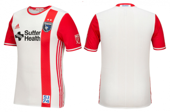 San Jose Earthquakes away 3