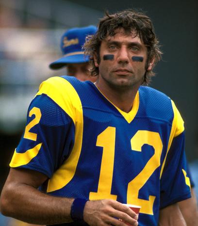 Joe Namath, Los Angeles Rams (1977)