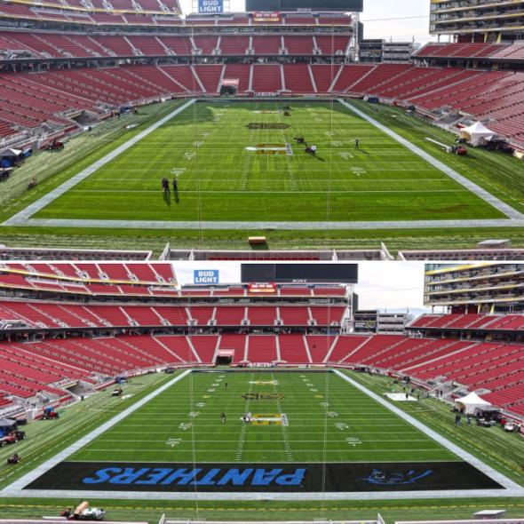 Super Bowl 50 Endzone 3