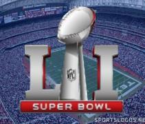 Super Bowl 51 LI Houston Logo