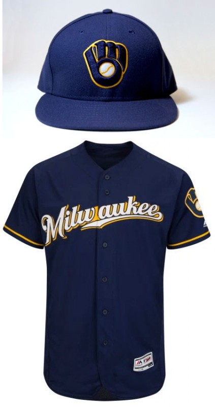 brewers new uniform