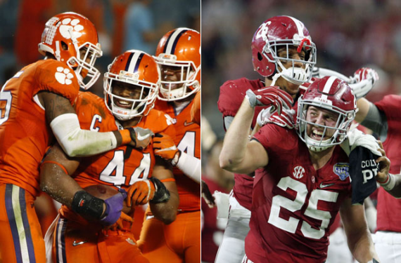 Our Top 10 College Football National Championship Game Uniform Matchups
