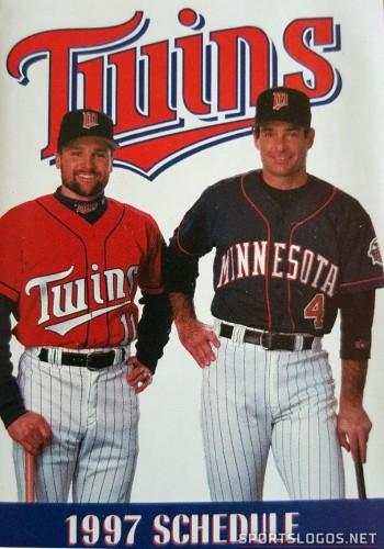 minnesota twins 1997 schedule red jersey
