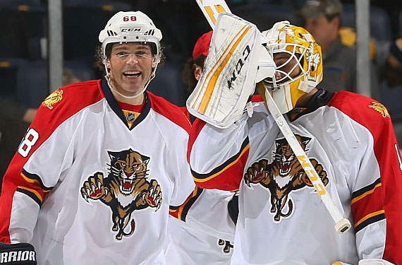 panthers luongo jagr