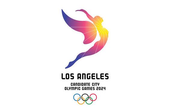 LA 2024 bid logo wants us to follow the sun