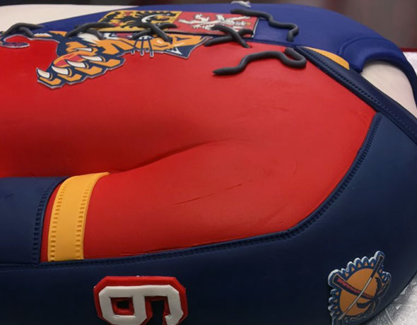 Panthers Celebrate Jagr Birthday With Franken-Jersey Cake