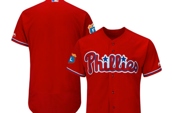626fb651365 Phillies to wear all red jerseys for first time since 1979