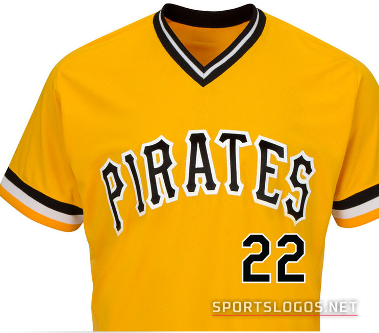 Pirates jersey front detail  bd11ad670