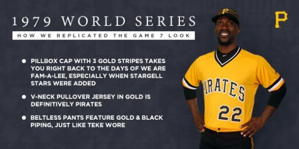 Pirates new uniform