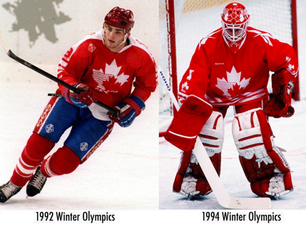 Tackla Reebok Logos On Hockey Jerseys 1992 1994 Olympics