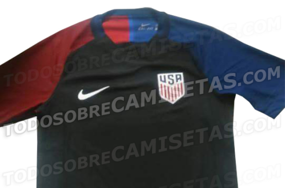 The US Soccer 2016 Copa America kits may have leaked