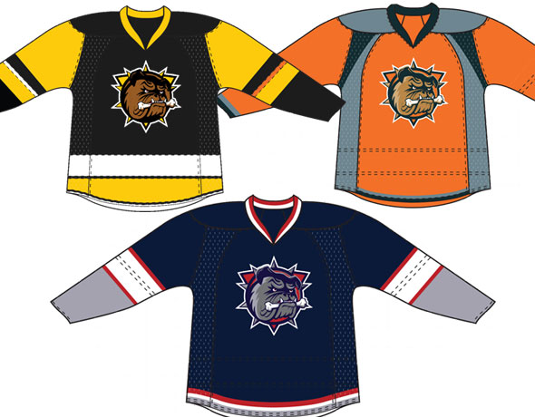 Hamilton Bulldogs Taking Votes For New Fan-Designed Uniforms
