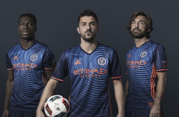 NYCFC and Columbus Crew reveal their away kits for 2016