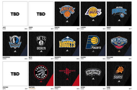 Jazz, Kings, and Pistons may have new primary logos for 2016-17 season