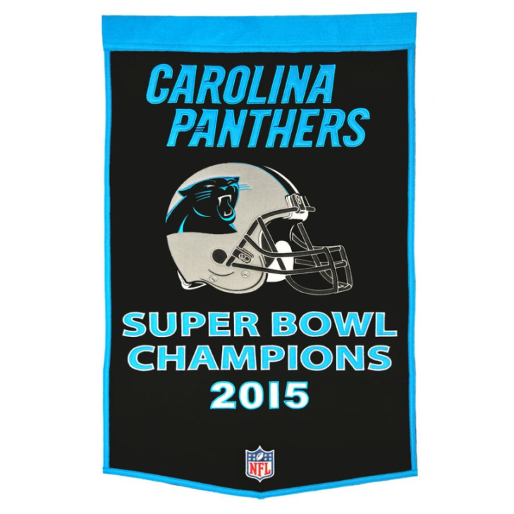 Phantom Merchandise  Carolina Panthers Super Bowl 50 Champions Gear ... b2c60f1ce
