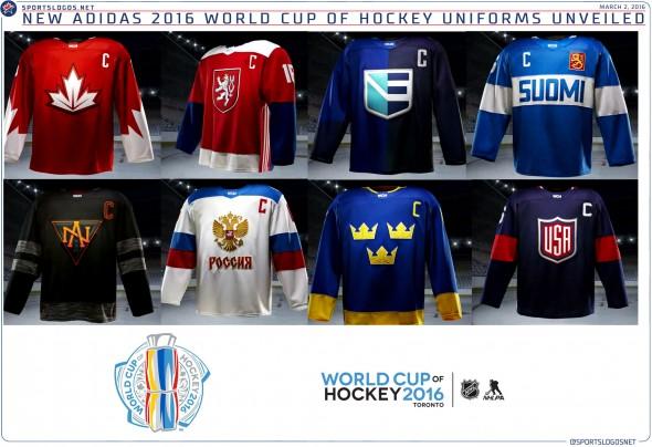 2016 WCOH Uniforms
