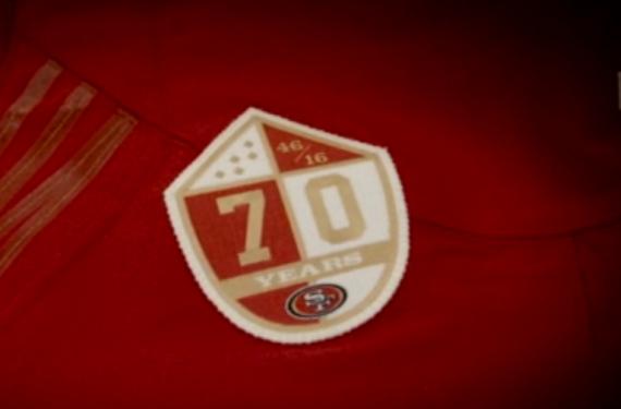 San Francisco 49ers unveil 70th anniversary logo