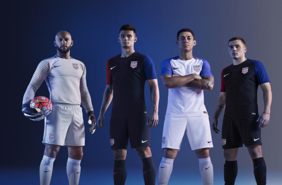 US Soccer officially unveils new kits for 2016