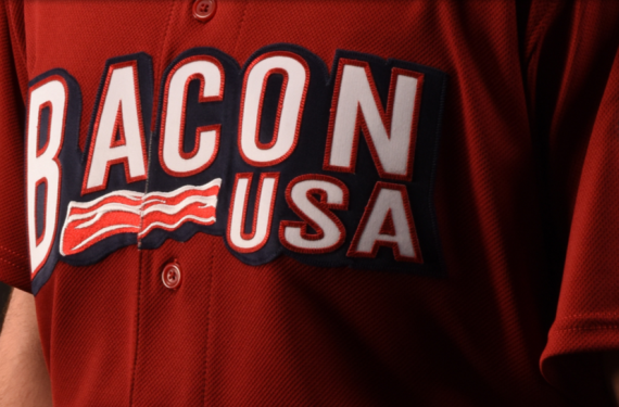 Lehigh Valley IronPigs represent Bacon USA with new uniforms