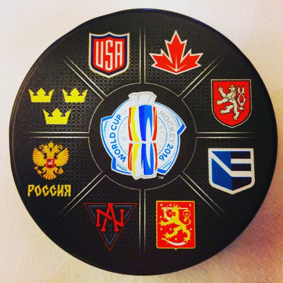First Look at 2016 World Cup of Hockey Logos
