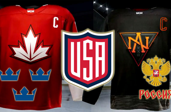 2016 World Cup of Hockey Uniforms Unveiled
