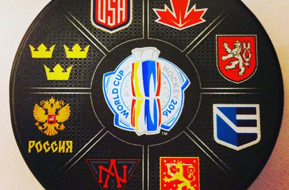 World Cup of Hockey Logos 2016 feat