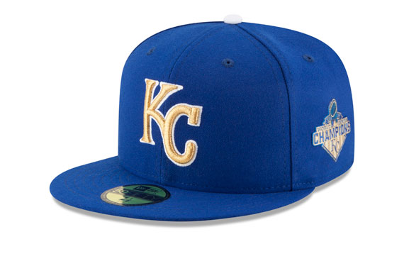 Royals Will Celebrate Title With Gold Cap, Jersey for Two Games