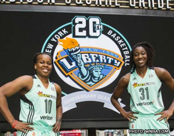 WNBA Uniforms Are Colourful for 20th Season