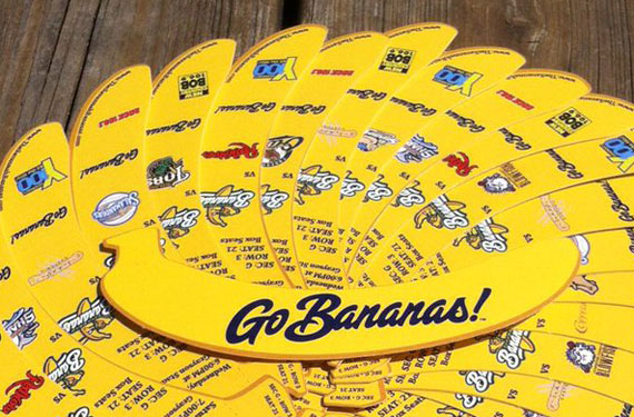 Savannah Bananas tickets have a certain appeal