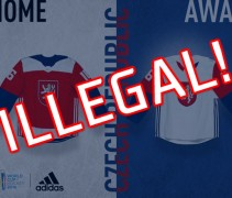 Czech Republic Original Uniforms World Cup 2016 Hockey Illegal