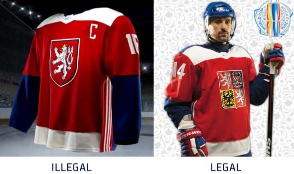 Czech Uniforms Before After