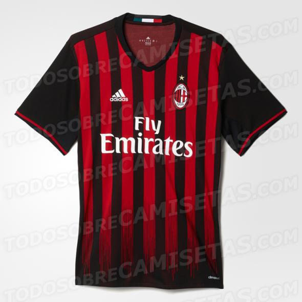 Europe 16 17 AC Milan