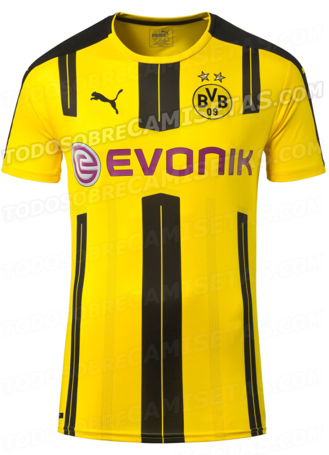 0ca6f7cec Major European soccer clubs have 2016-17 shirts leaked | Chris ...
