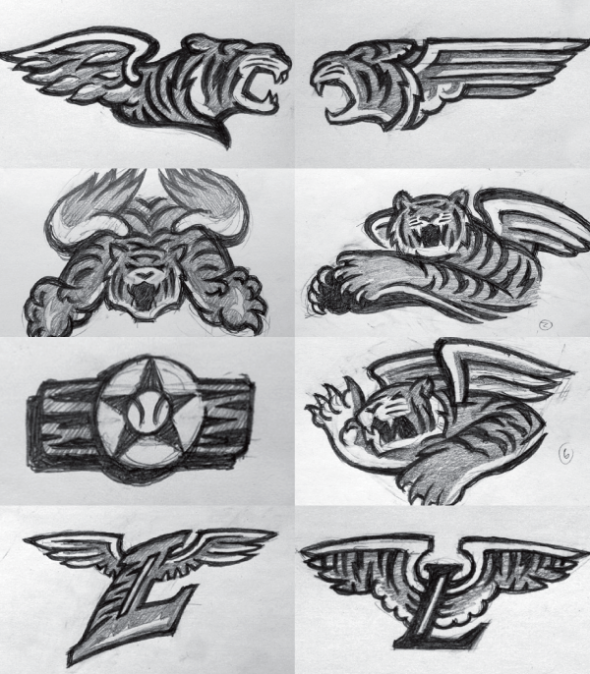 Flying-Tigers-Sketches