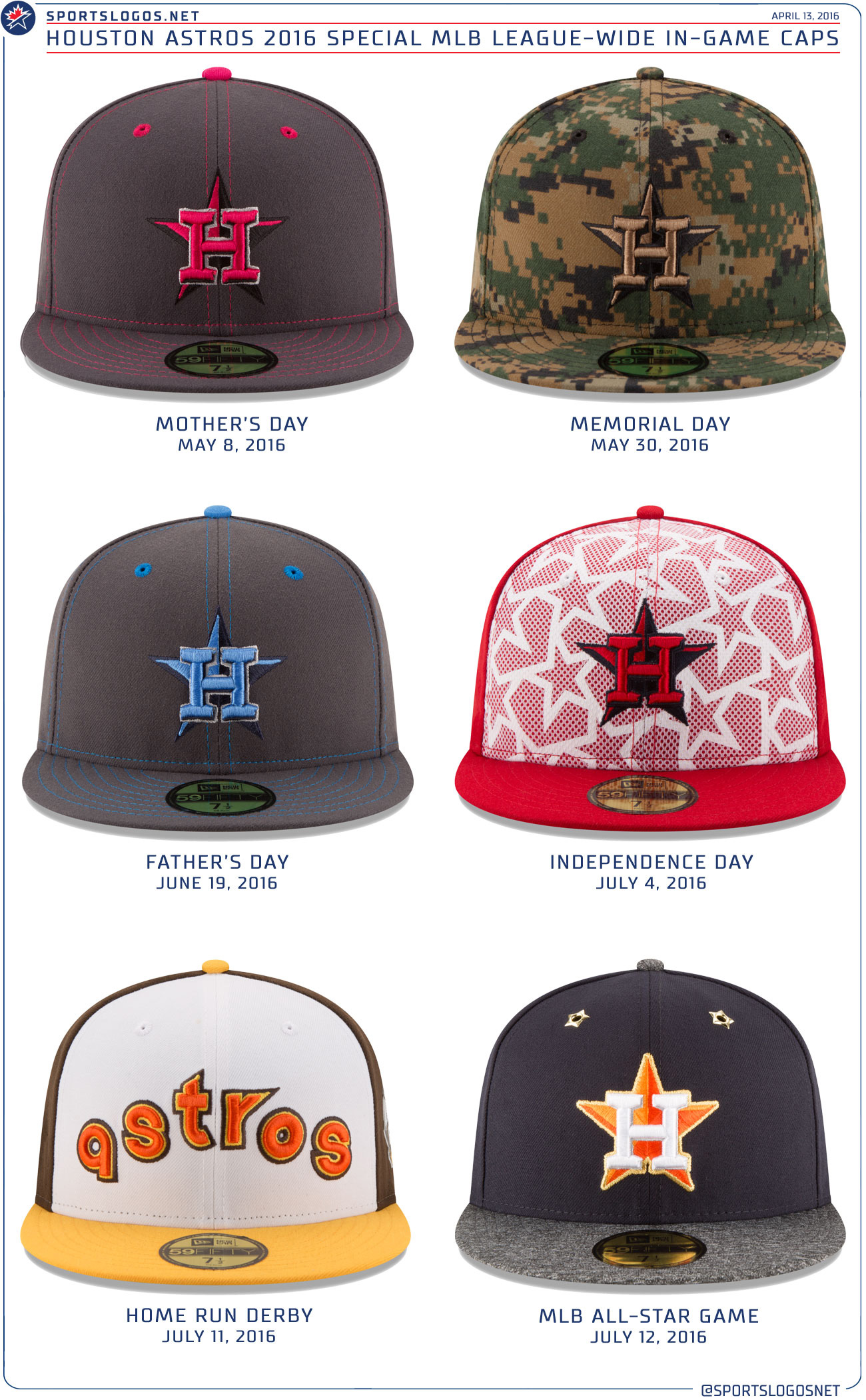 finest selection 08fff d2a9a Special Event Houston Astros Caps for 2016 : Astros