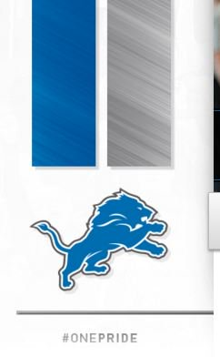Are the Detroit Lions phasing black out of their color