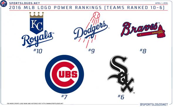 MLB LOGOS 10-6