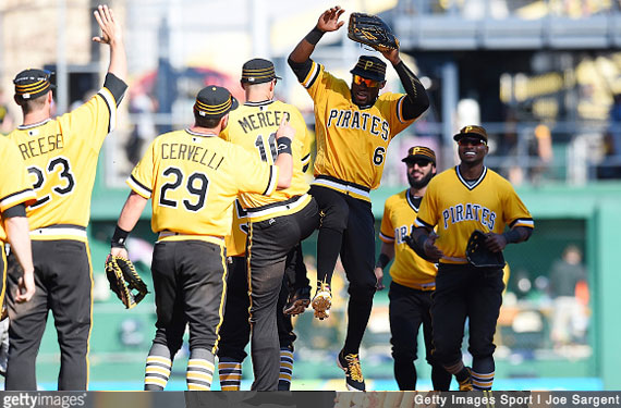Photos: Pirates Bring Back Pillbox, Debut Retro Uniform