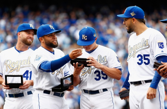 Kansas City Royals will continue wearing gold-trimmed uniforms for Friday home games