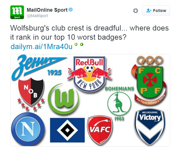 Zenit St Petersburg Engages In Twitter War With Daily Mail Over Logo Sportslogos Net News