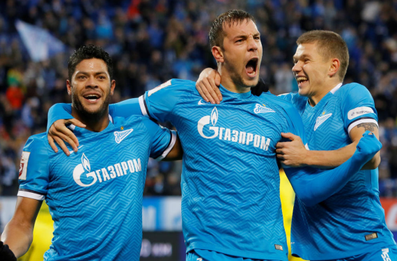 Zenit St. Petersburg engages in Twitter war with Daily Mail over logo