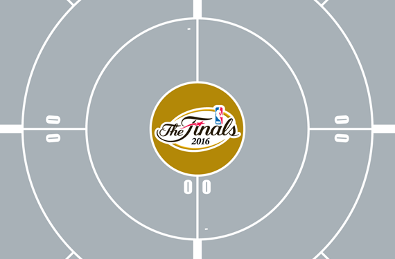 2016 Nba Playoffs Circle Bracket Conference Finals Chris