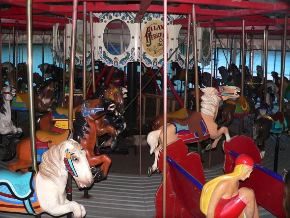 One of Binghamton's many carousels. Photo by  Ammodramus.
