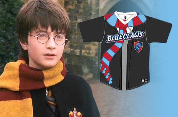 Lakewood BlueClaws to wear Harry Potter jerseys